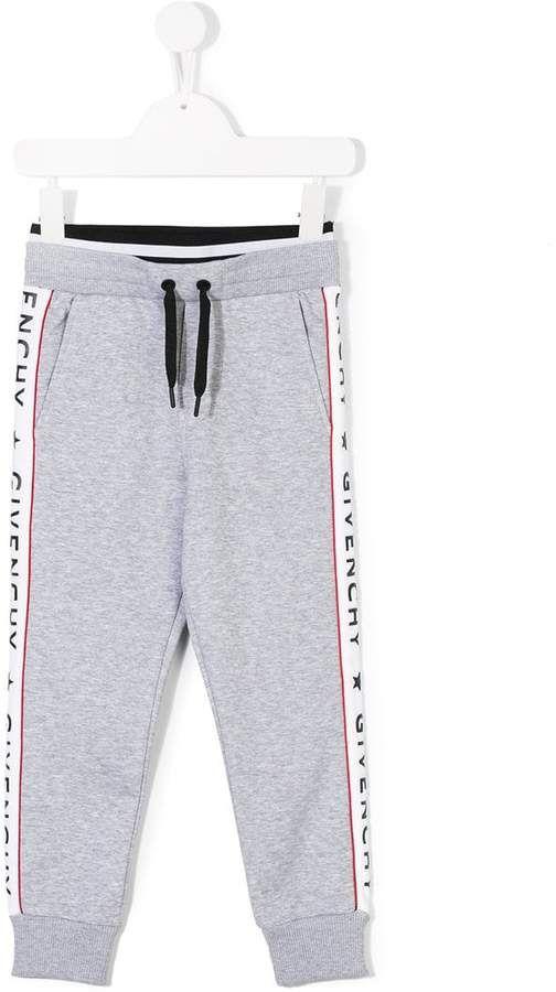 4e74def52 Givenchy Kids logo banded joggers | Sale Finds - Kids | Kids logo, Gym men,  Joggers