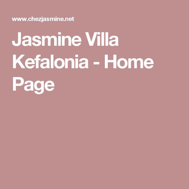 Jasmine Villa Kefalonia - Home Page
