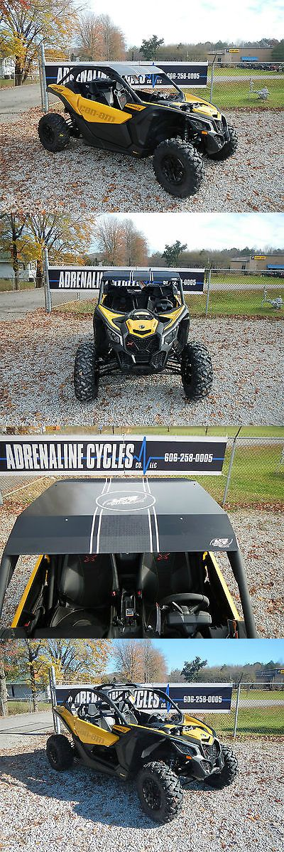 atvs utvs snowmobiles: 2017 Can-Am Maverick X3 Xds Turbo - 154Hp Fox Shocks Lonestar Racing Roof #460A BUY IT NOW ONLY: $24999.0