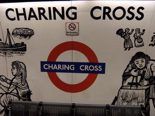 Charing Cross London Underground Station in London, Greater London