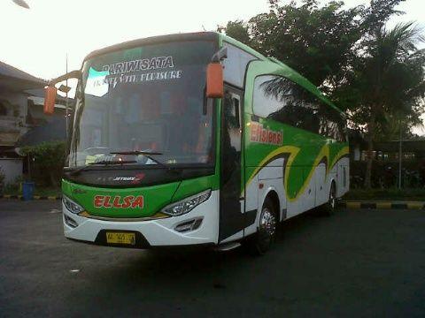 Sewa Bus Pariwisata Seat 50 di Jogja   Sewa Bus Jogja