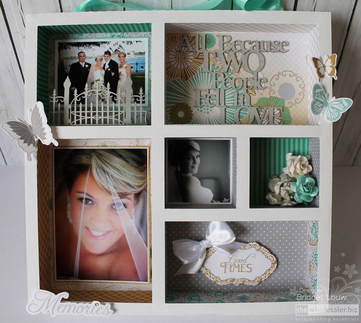 Kaisercraft Elegance - Wedding Elegance Printers Tray