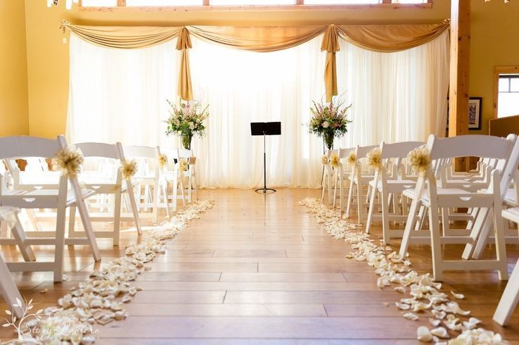 Beautiful Wedding Ceremony Decorations   Ceremony decor. simple ...