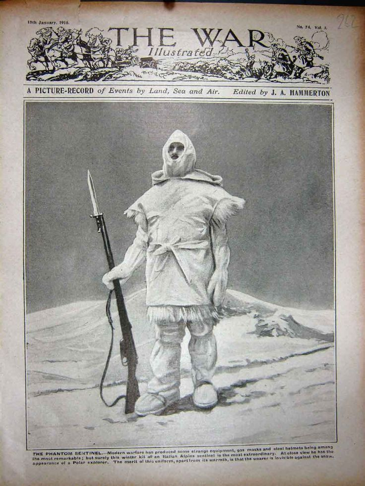 WWI 1916 - Italian Alpine Sentinel