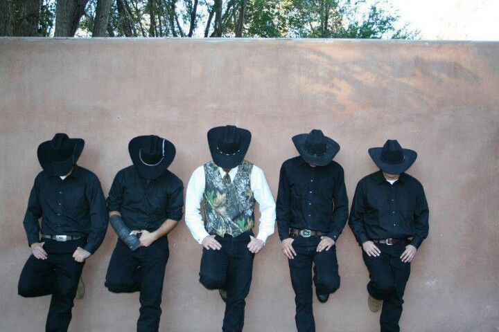 This is so cute ... but I can't see Stephen, Robert, or Avery in cowboy hats