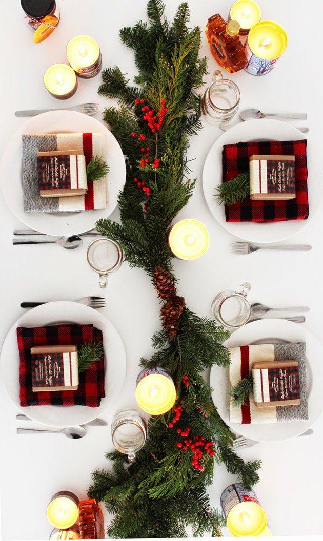 14 Magical Christmas Table Decorations Christmas Table Decorations Diy Christmas Table Holiday Tablescapes
