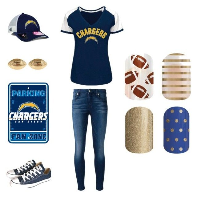 """""""Jamberry Sports"""" by kellie-guravich-medivitz on Polyvore featuring Converse, 7 For All Mankind, New Era and Fornash"""