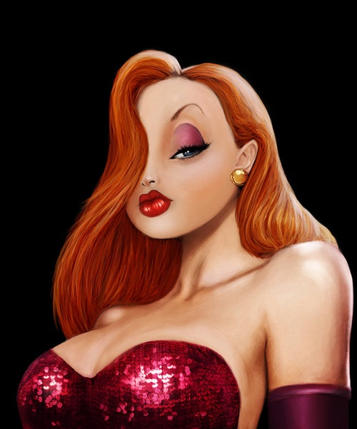 jessica-rabbit-jessica-rabbit they should make another movie &  Angelina Joele  would be the perfect Jessica