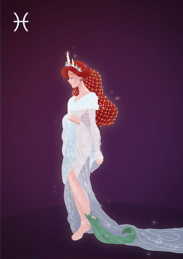 Pisces - Ariel by Grodansnagel on DeviantArt