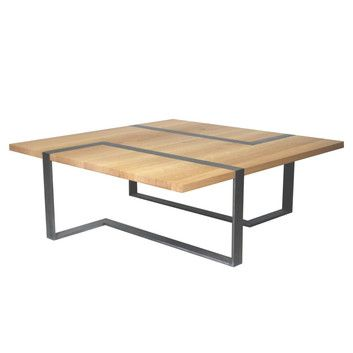 26 best images about table basse 2 on pinterest wood for Table basse bois metal industriel