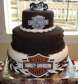 harley davidson wedding cake chopper exchange