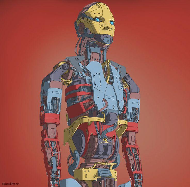ArtStation - Robot, Eduard Pronin