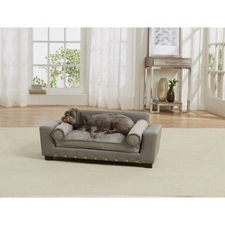 Christopher Knight Home Doggerville Oval Cushy Dog Sofa   Overstock.com Shopping - The Best Deals on Pet Sofas & Furniture