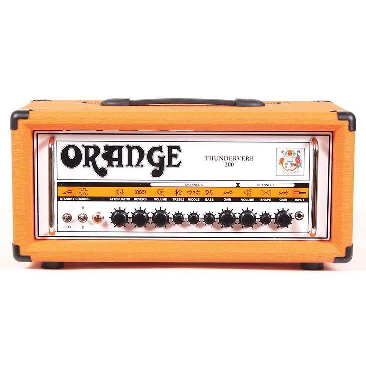 Orange Amplifiers Thunderverb 200 Series TH200HTC 200W Tube Guitar Amp