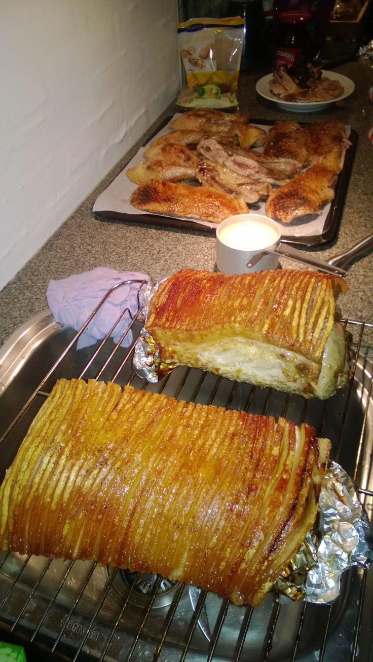 flæskesteg (pork roast with crispy skin) from the expat blog The Copenhagen Tales