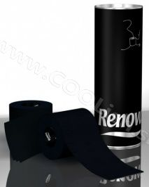 Originálny darček Renova toaletný luxusný papier čierny