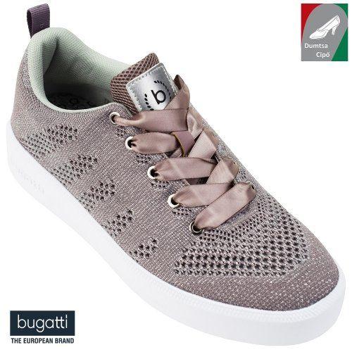 Bugatti női cipő 421-40704-6969-3413 barnás rózsaszín ezüst ... d98d402d10