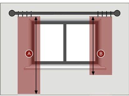 1000 Ideas About Short Window Curtains On Pinterest Off Center Windows Window Scarf And