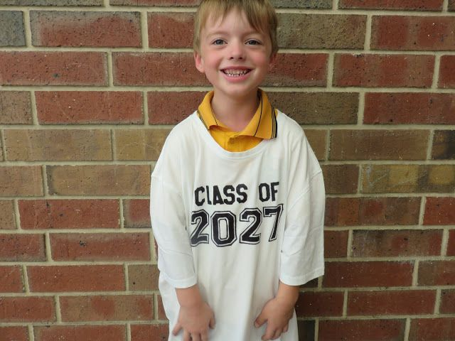 First Day of School Class of 2027 Top