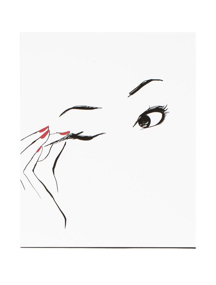 Eyeliner Poster, 8x10 / Garance Doré