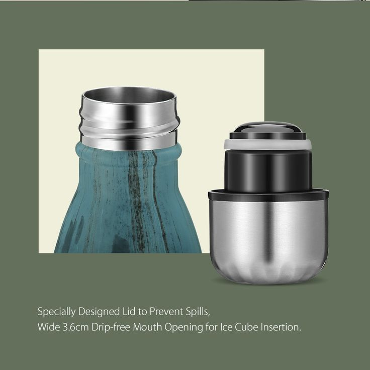 KCASA KC-BT007 Portable Insulation Water Bottle Outdoor Vacuum Cup Double Walled Thermos Flask