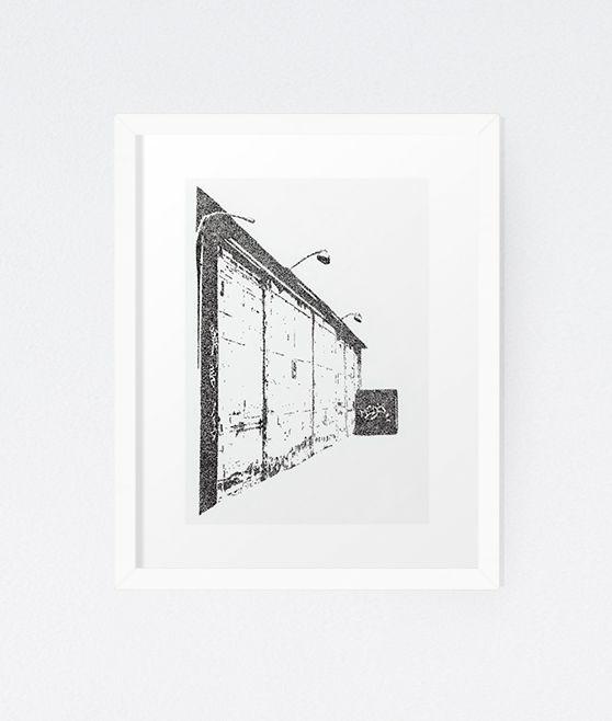 City in Dots No. 3 - Original by Michelle Waldie