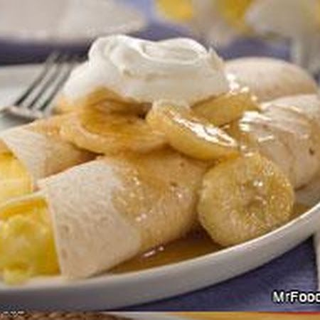 Bananas Foster Crepes | breakfast/brunch | Pinterest