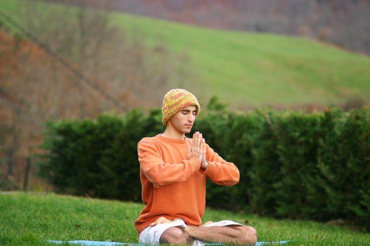 Mens Cotton Pocket Square - Philosophy and Meditation by VIDA VIDA 4gcuKAGeF