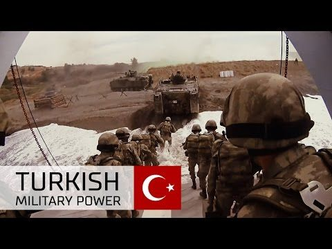 Turkish Military Power - Turkish Armed Forces in Heavy Massive Live Fire Range