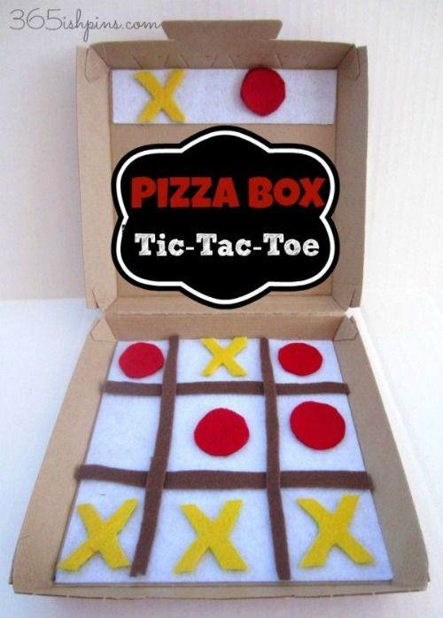 10 playful ways to transform a pizza box by Teach Preschool