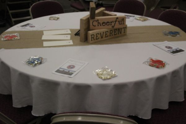 Eagle Scout Court Of Honor Table