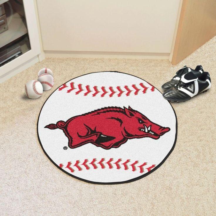 Arkansas Razorbacks Baseball Mat, Team
