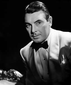 George Brent I love watching George Brent. See him in Dark Victory with Bette Davis or The Spiral Staircase with Ethel Barrymore.