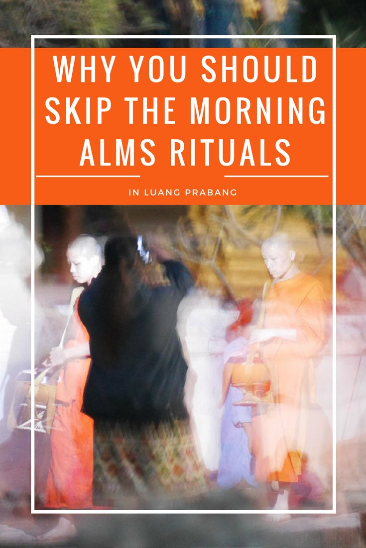 Click on this pin to read the truth about the morning alms rituals in Luang Prabang. By making a well educated choice, you can help the monks focus on their ancient tradition again.