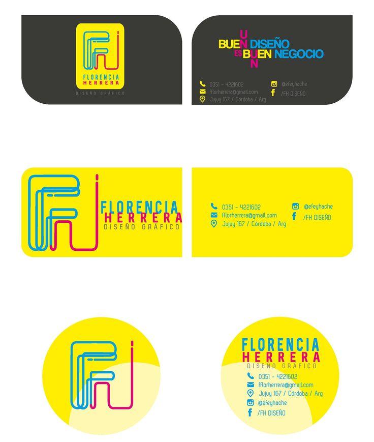 Diseño de tarjetas personales .