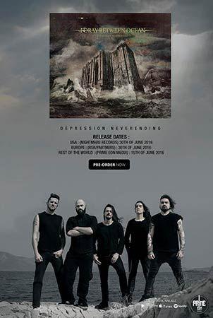 FORAY BETWEEN OCEAN - Όλες οι λεπτομέρειες του νέου τους album  #foray_between_ocean #new_album #album #album_details #metal #news #music_news