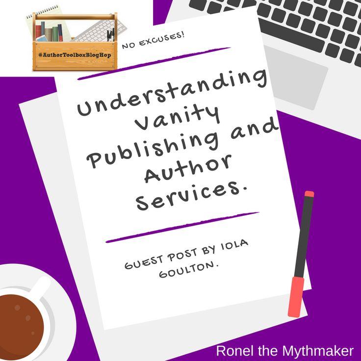 Understanding Vanity Publishing and Author Services #pubtip #AuthorToolboxBlogHop #selfpublishing
