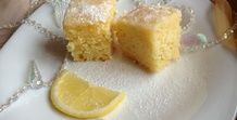 Несложные в приготовлении очень ароматные лимонные пирожные, которые нравятся...
