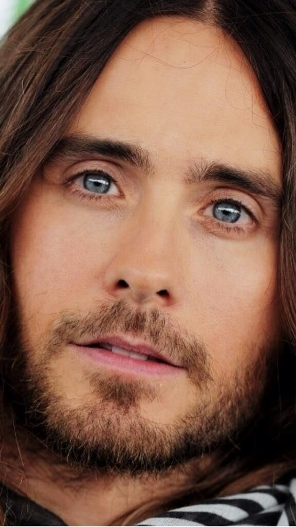 Jared Leto. I'm seriously in love with this man. He's so wonderful and talented and humble, beautifully sexy, etc...