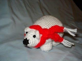Time out for Crochet-Polar Bear   AllFreeCrochet.com