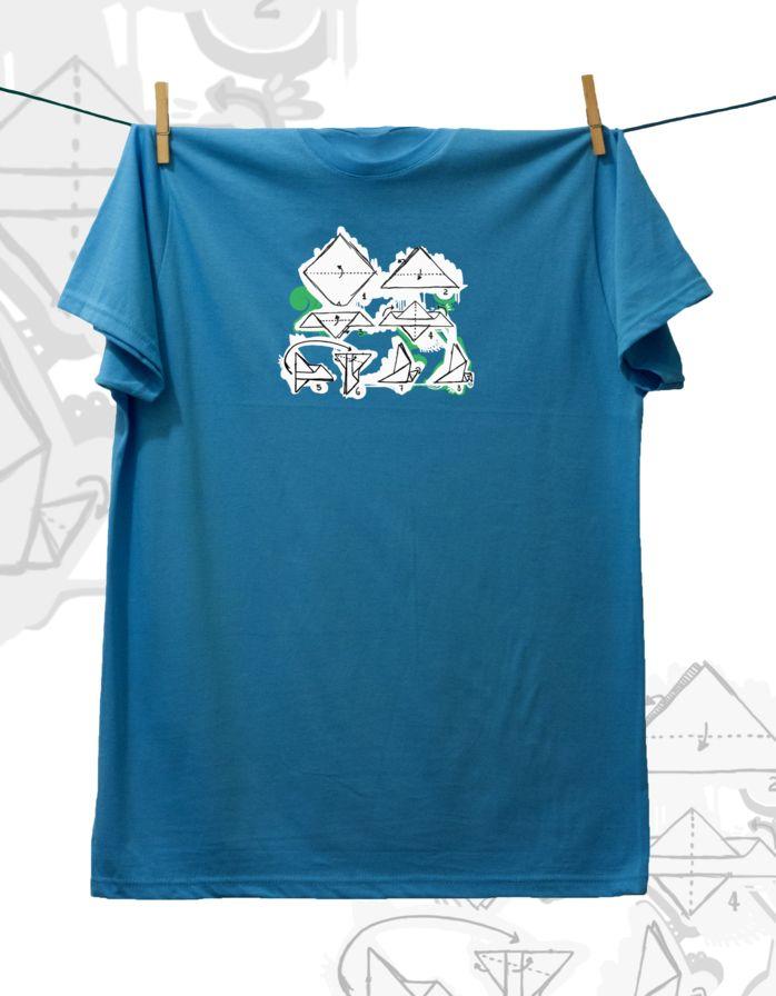 Camiseta ·MXH· Papiroflexia
