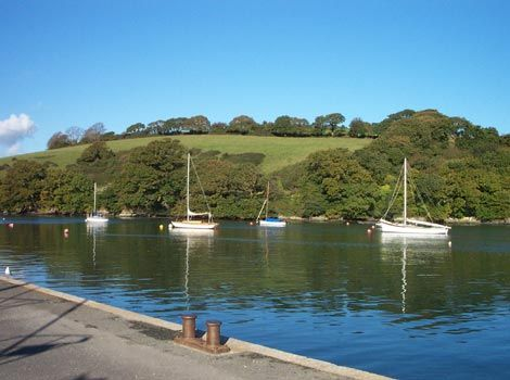 Mylor harbour