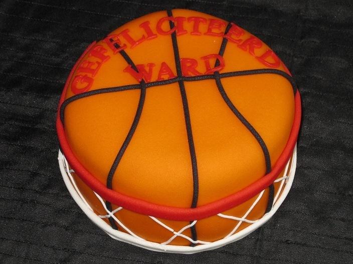 Basketbal taart