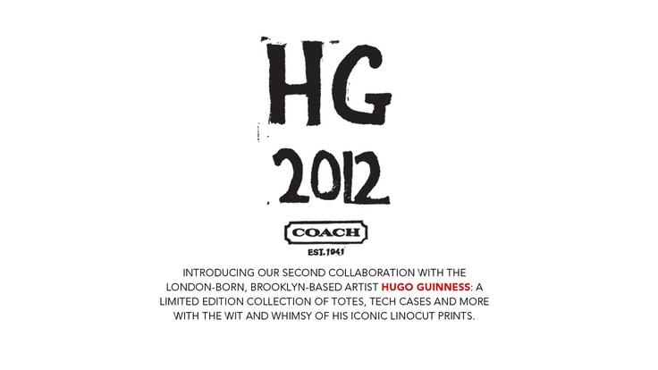Hugo Guinness for Coach