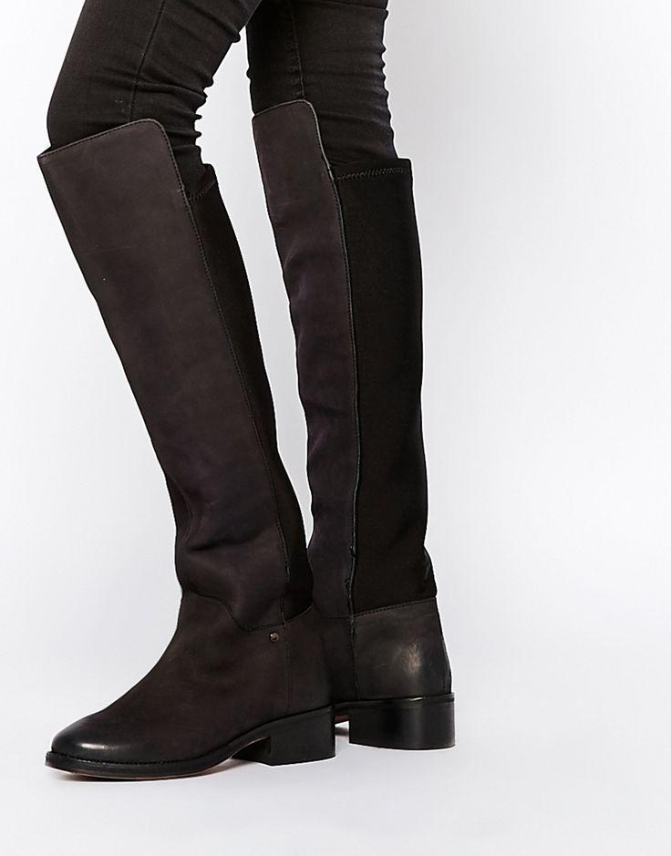 Immagine 1 di Miss KG - West - Stivali sopra il ginocchio in due pellami