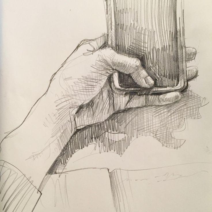 Sketchbook art drawing 3 24 16