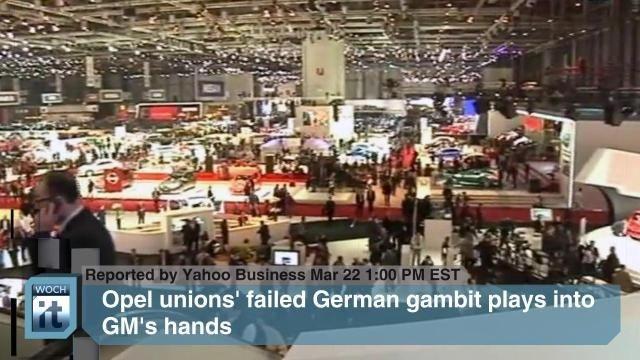 VIDEO: FRANKFURT News - General Motors, Commerzbank, Lufthansa Systems - http://therealconservative.net/2013/04/17/world-news/mid-east/video-frankfurt-news-general-motors-commerzbank-lufthansa-systems/