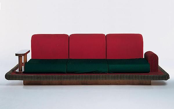 Ettore Sottsass (Designer), Flying Carpet Couch, 1974