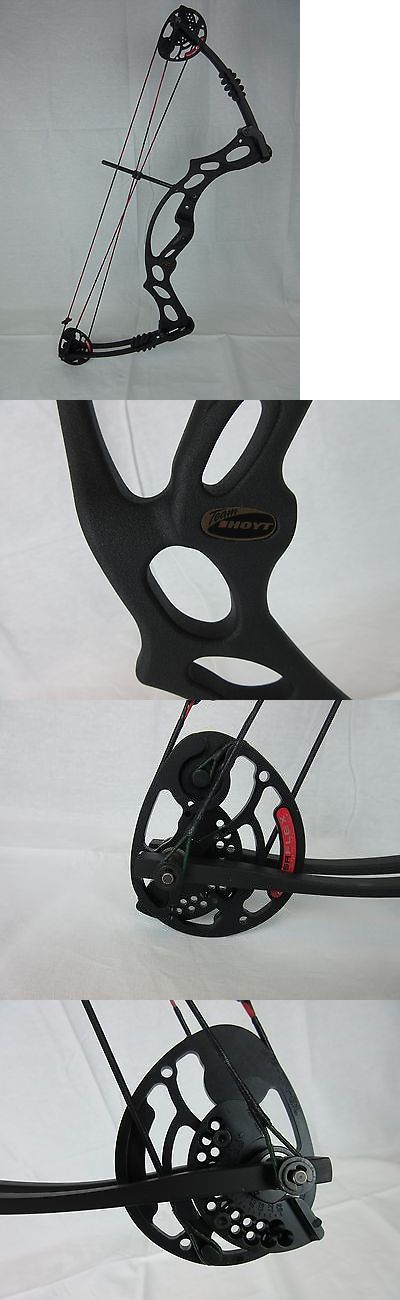 Compound 20838: 2013 Hoyt Ruckus Left Hand Black Youth Compound Bow. Archery Kids BUY IT NOW ONLY: $179.99