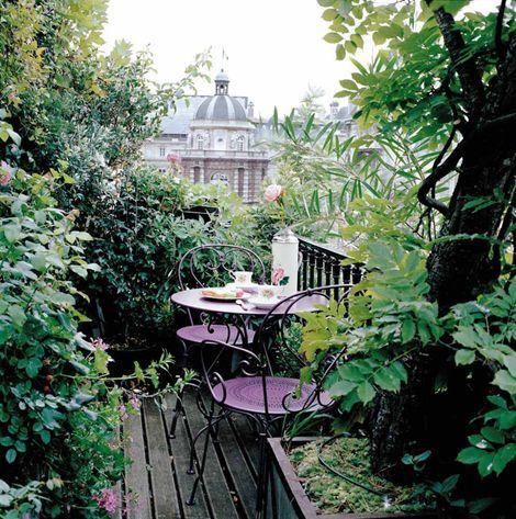 #Balcony #green #garden